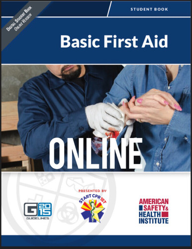 ASHI Basic First Aid online course