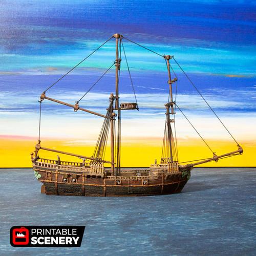 The Brig Ship DnD Terrain