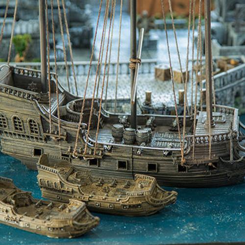 Viking the Frigate DnD Ship Terrain