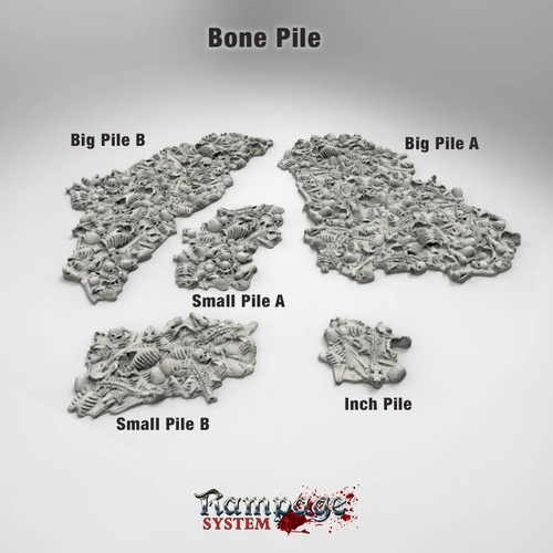 Dungeons Bone Piles DnD Terrain