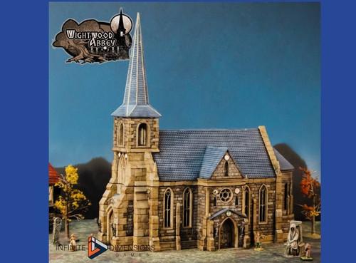 Wightwood Abbey Church DnD Terrain