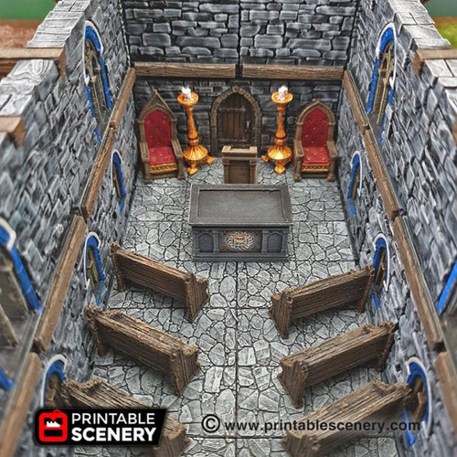 Furniture The Chapel Chattels DnD Terrain