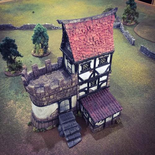 Winterdale War Cottage DnD Terrain