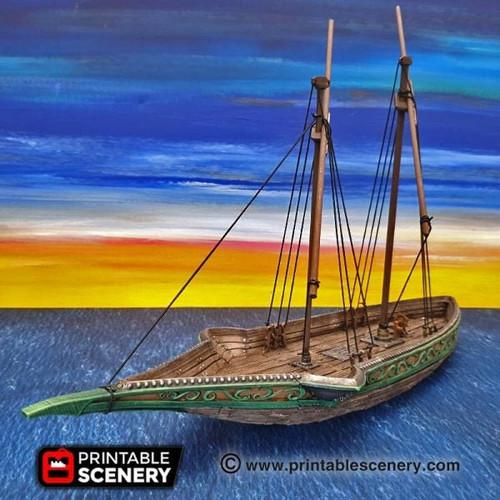 Sea Reaver Ship DnD Terrain