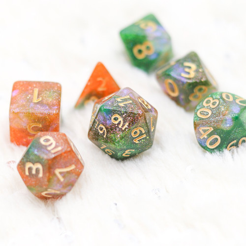 The Elf Forest DnD Dice