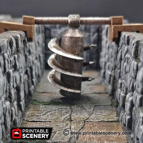 Blade Column Trap Tile