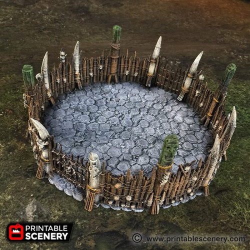 Fighting Pits DnD Terrain