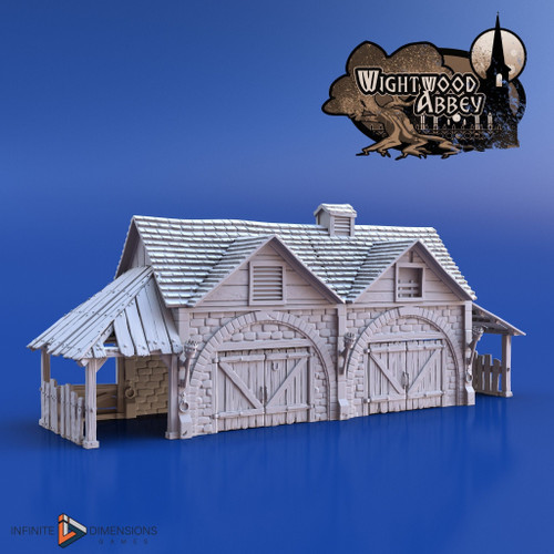 Wightwood Abbey Stables DnD Terrain