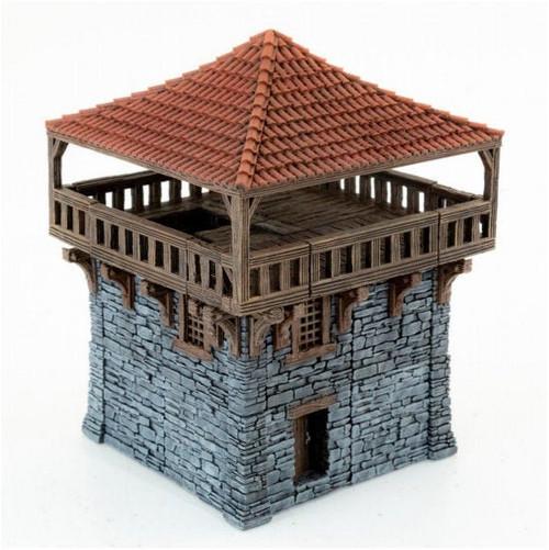 Clorehaven Watch Tower Modular Tiles DnD Terrain