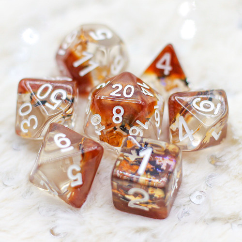 Nature of Earth DnD Dice