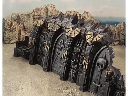 Gothic Spaceship Wreck Part B Sci-Fi Terrain