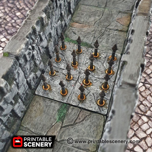 All Traps  OpenLock Tiles 2 DnD Terrain