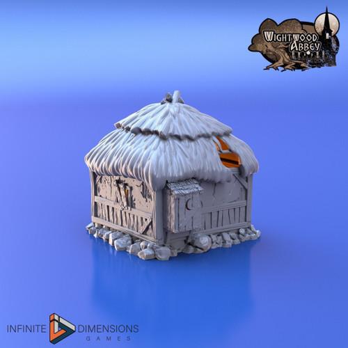 Prison Hut / Quarantine DnD Terrain