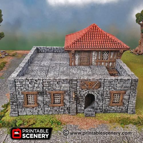Guard House Modular Tiles DnD Terrain