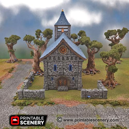 Chapel Church Modular Tiles