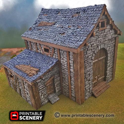 Stone Barn Tiles DnD Terrain