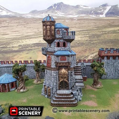 Dwarf Dwarven Ironhelm Fortress DnD Terrain