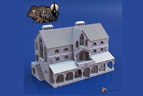 Wightwood Abbey Scriptorium DnD Terrain