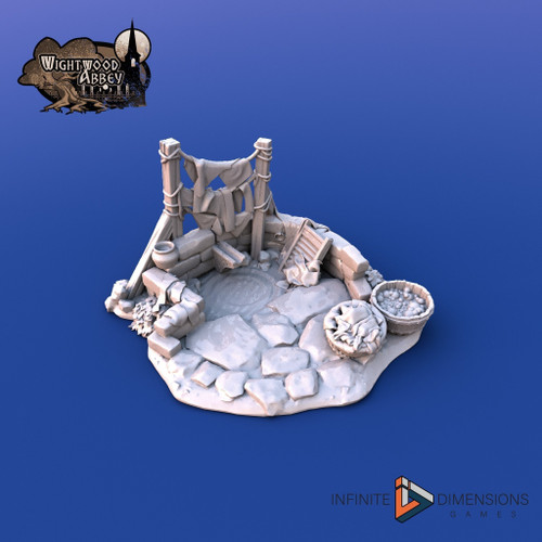 Wightwood The Laundry DnD Terrain