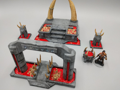 Evil Abyss Blood and Bone DnD Terrain