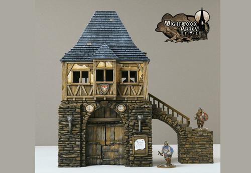 Wightwood Abbey Gatehouse DnD Terrain