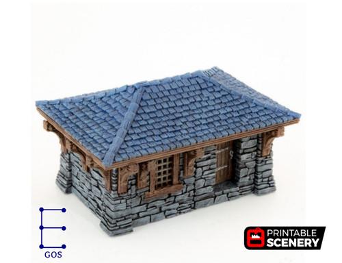 Clorehaven Cottage Modular Tiles DnD Terrain