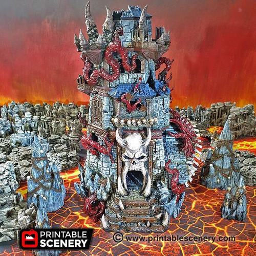 Demon Helm DnD Terrain