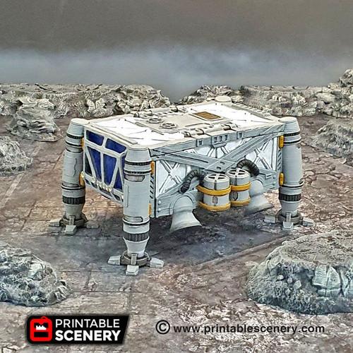Lunar Cargo Lander Sanctuary DnD Terrain