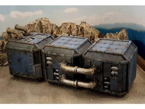 Sci Fi Grimdark Block DnD Terrain