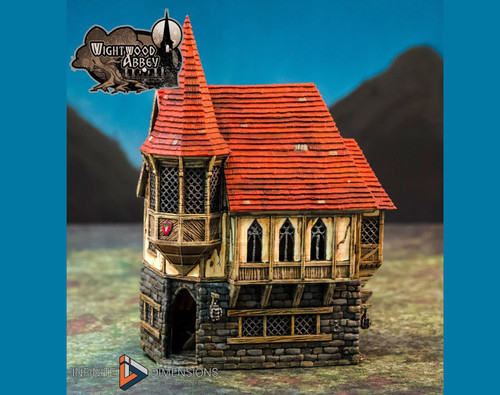 Wightwood Abbey Abbot's House DnD Terrain