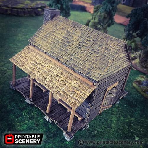 The Log Cabin DnD Terrain