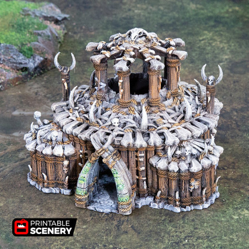 The Witch Temple DnD Terrain
