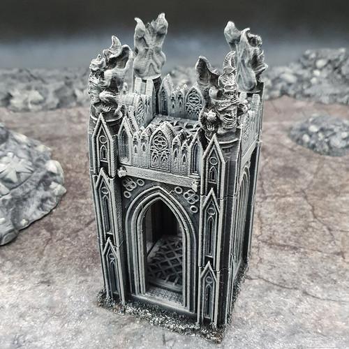 Gargoyle Tower DnD Terrain