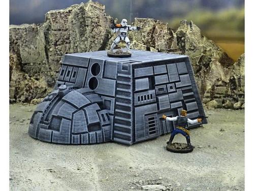 Starship Spaceship Sci-Fi Terrain