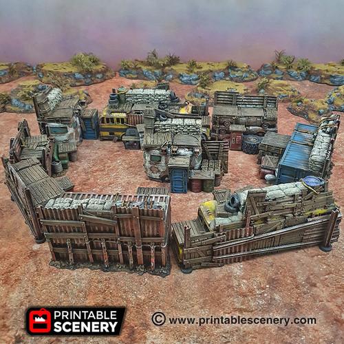 Junk Ramparts Dnd Terrain