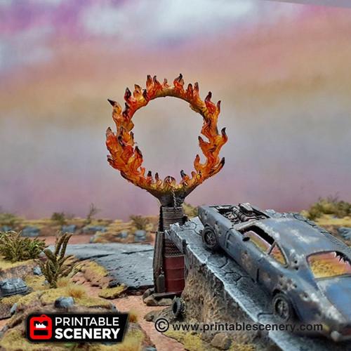 Burning Ring Of Fire DnD Terrain