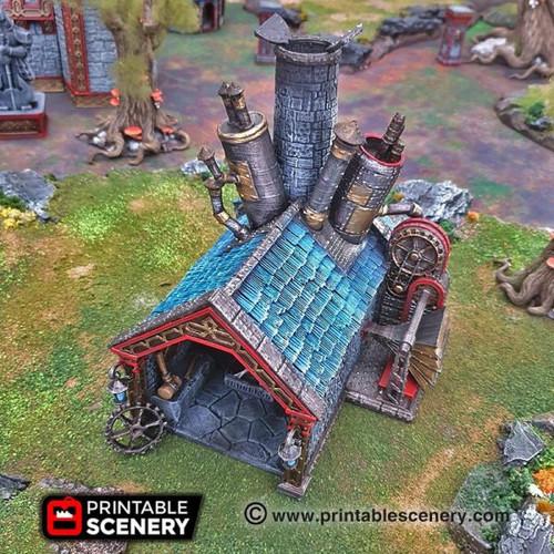 Dwarf Dwarven Forge DnD Terrain