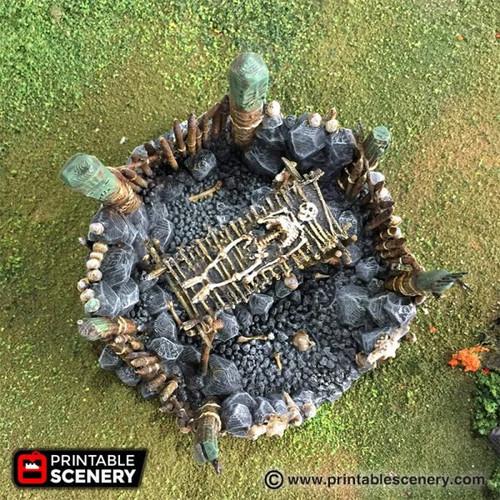 Burial Platform DnD Terrain