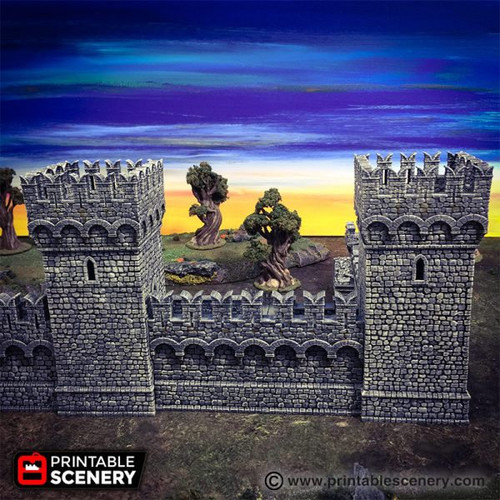 Port Winterdale Bastion And Ramparts DnD Terrain