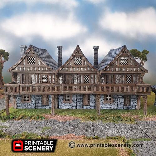 Terrace Housing Modular Tiles DnD Terrain