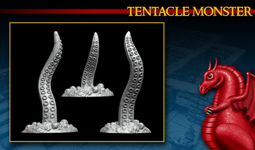 Tentacle Monsters DnD Miniature
