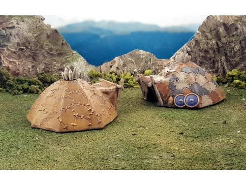 Barbarian Viking Hunter Tent Scatter DnD Terrain