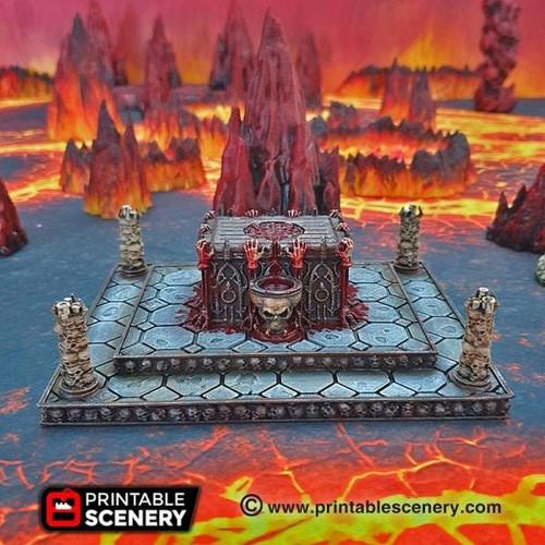 Sacrificial Altar DnD Terrain