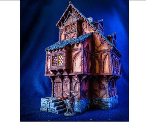 Medieval Home Tavern DnD Terrain