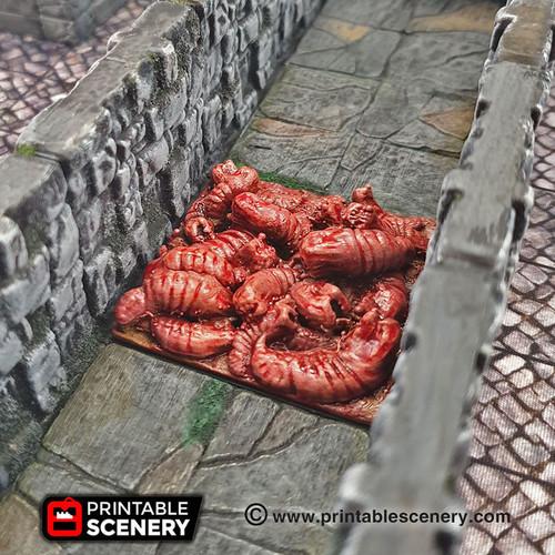 Carnivorous Worm Trap DnD Terrain