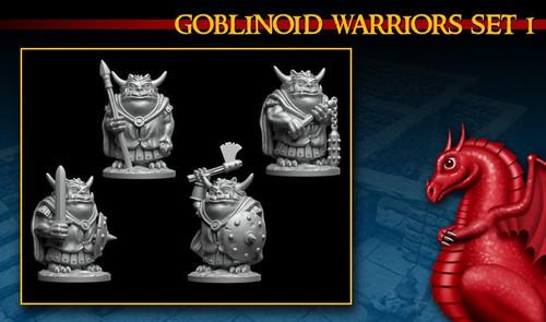 Goblin Fighters Ver. DnD Miniature