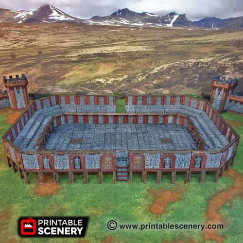 Dwarven Grudge Arena DnD Terrain