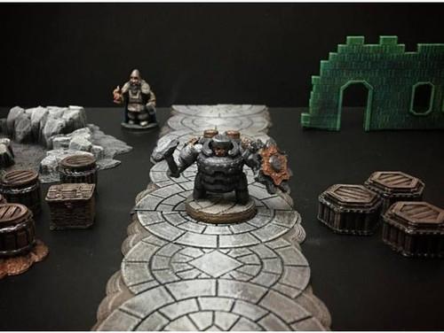 Dwarf Warrior DnD Miniature