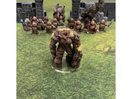 Earthenkind Elemental Giant Monster DnD Miniature