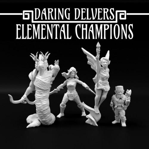Elemental Champions DnD Miniature